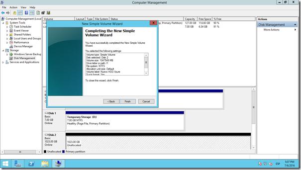 Agregar Discos de Datos VM Figura 13